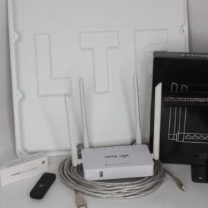 """Комплект для интернета Антенна """"ЦИФРИУС"""" С18 BOX+ USB Модем 3G/4G """"Huawei""""+ Wi-Fi роутер ZBT"""