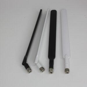 Антенна 5 dBi 3G/4G для роутеров, SMA-male, белая